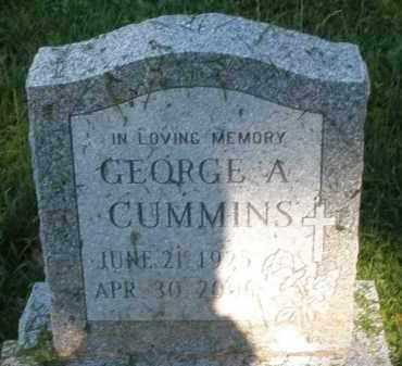 CUMMINS, GEORGE A. - Montgomery County, Ohio | GEORGE A. CUMMINS - Ohio Gravestone Photos