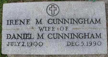 CUNNINGHAM, IRENE M. - Montgomery County, Ohio   IRENE M. CUNNINGHAM - Ohio Gravestone Photos