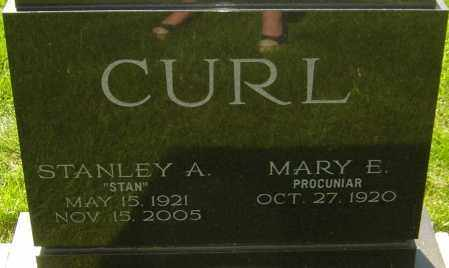 "CURL, STANLEY A ""STAN"" - Montgomery County, Ohio 