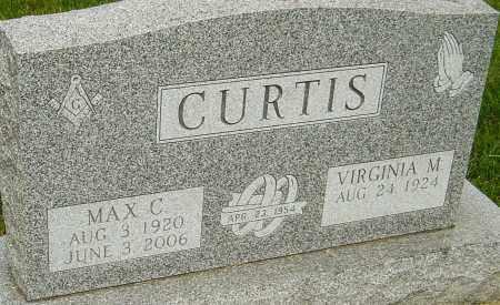 CURTIS, MAX C - Montgomery County, Ohio | MAX C CURTIS - Ohio Gravestone Photos
