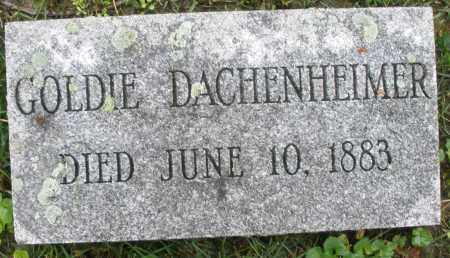 DACHENHEIMER, GOLDIE - Montgomery County, Ohio | GOLDIE DACHENHEIMER - Ohio Gravestone Photos