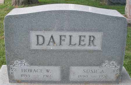 DAFLER, SUSIE A. - Montgomery County, Ohio | SUSIE A. DAFLER - Ohio Gravestone Photos