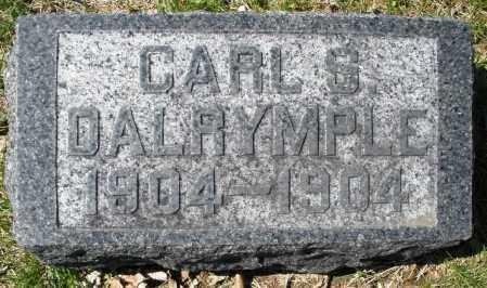 DALRYMPLE, CARL S. - Montgomery County, Ohio | CARL S. DALRYMPLE - Ohio Gravestone Photos