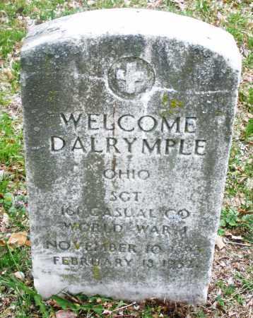 DALRYMPLE, WELCOME - Montgomery County, Ohio   WELCOME DALRYMPLE - Ohio Gravestone Photos