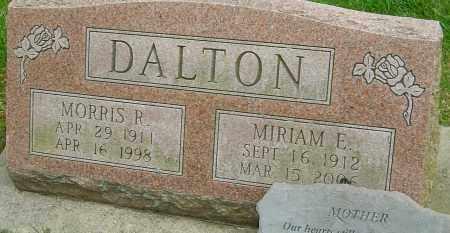 DALTON, MORRIS R - Montgomery County, Ohio | MORRIS R DALTON - Ohio Gravestone Photos