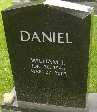 DANIEL, WILLIAM J - Montgomery County, Ohio | WILLIAM J DANIEL - Ohio Gravestone Photos