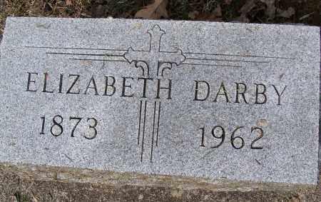 DARBY, ELIZABETH - Montgomery County, Ohio | ELIZABETH DARBY - Ohio Gravestone Photos