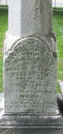 DARNER, ELIZABETH - Montgomery County, Ohio   ELIZABETH DARNER - Ohio Gravestone Photos