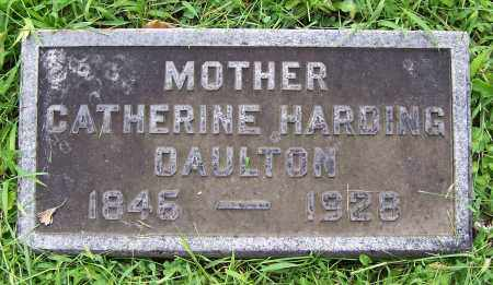 HARDING DAULTON, CATHERINE - Montgomery County, Ohio | CATHERINE HARDING DAULTON - Ohio Gravestone Photos