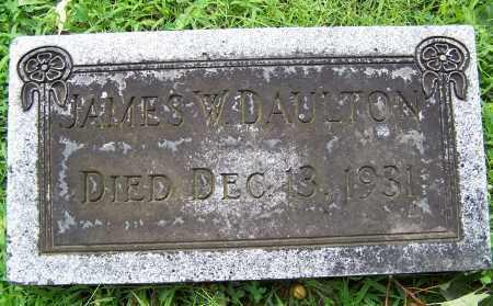 DAULTON, JAMES W - Montgomery County, Ohio | JAMES W DAULTON - Ohio Gravestone Photos