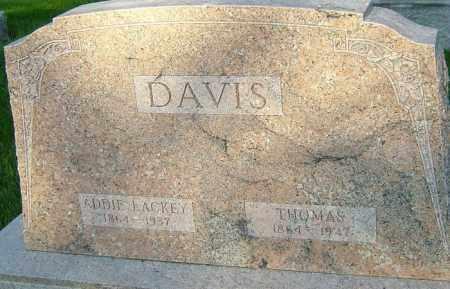 LACKEY DAVIS, ADDIE - Montgomery County, Ohio | ADDIE LACKEY DAVIS - Ohio Gravestone Photos