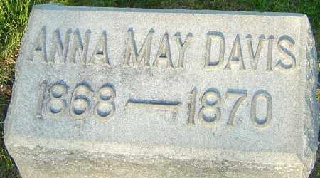 DAVIS, ANNA MAY - Montgomery County, Ohio   ANNA MAY DAVIS - Ohio Gravestone Photos