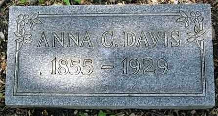 DAVIS, ANNA CATHERINE - Montgomery County, Ohio | ANNA CATHERINE DAVIS - Ohio Gravestone Photos