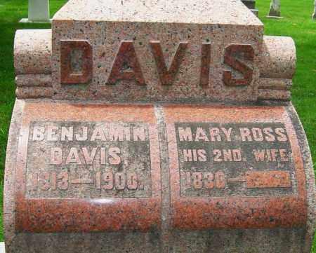 ROSS DAVIS, MARY - Montgomery County, Ohio | MARY ROSS DAVIS - Ohio Gravestone Photos