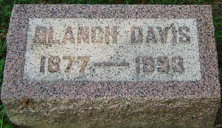 DAVIS, BLANCH - Montgomery County, Ohio | BLANCH DAVIS - Ohio Gravestone Photos