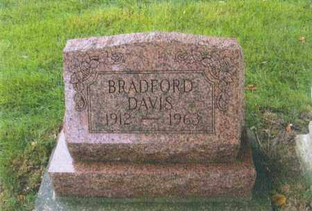 DAVIS, BRADFORD - Montgomery County, Ohio   BRADFORD DAVIS - Ohio Gravestone Photos