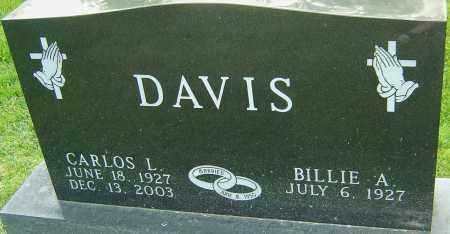 DAVIS, CARLOS L - Montgomery County, Ohio   CARLOS L DAVIS - Ohio Gravestone Photos