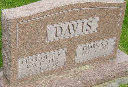 SUPINGER DAVIS, CHARLOTTE MAY - Montgomery County, Ohio | CHARLOTTE MAY SUPINGER DAVIS - Ohio Gravestone Photos