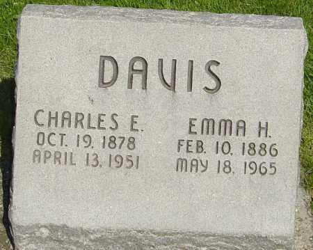DAVIS, EMMA H - Montgomery County, Ohio | EMMA H DAVIS - Ohio Gravestone Photos