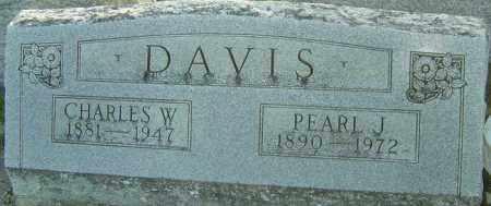 DAVIS, CHARLES W - Montgomery County, Ohio | CHARLES W DAVIS - Ohio Gravestone Photos