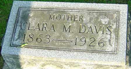 MONTGOMERY DAVIS, CLARA M - Montgomery County, Ohio | CLARA M MONTGOMERY DAVIS - Ohio Gravestone Photos