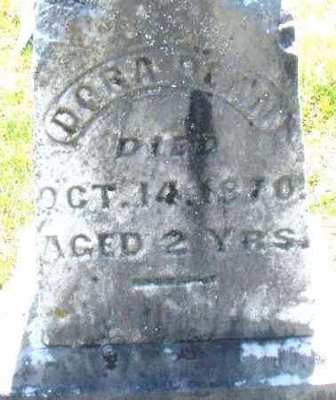 DAVIS, DORA - Montgomery County, Ohio   DORA DAVIS - Ohio Gravestone Photos