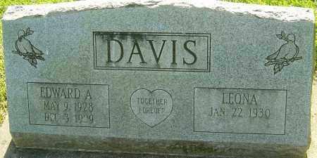 DAVIS, EDWARD A - Montgomery County, Ohio | EDWARD A DAVIS - Ohio Gravestone Photos