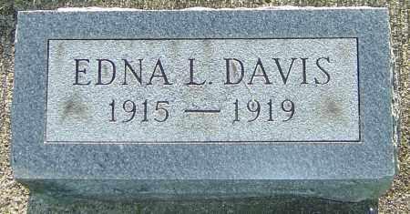 DAVIS, EDNA L - Montgomery County, Ohio | EDNA L DAVIS - Ohio Gravestone Photos