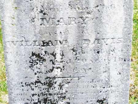 DAVIS, MARY - Montgomery County, Ohio   MARY DAVIS - Ohio Gravestone Photos