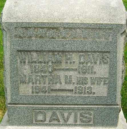 DAVIS, MARTHA M - Montgomery County, Ohio | MARTHA M DAVIS - Ohio Gravestone Photos