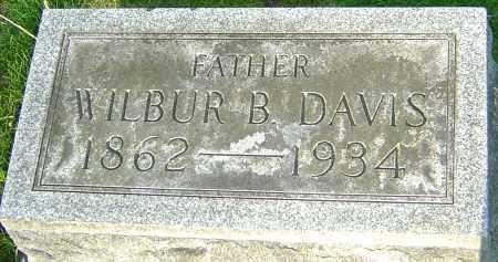 DAVIS, WILBUR B - Montgomery County, Ohio   WILBUR B DAVIS - Ohio Gravestone Photos