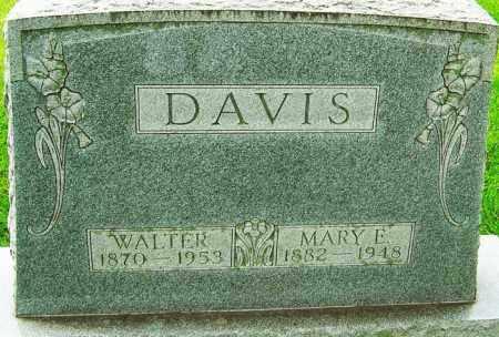 DAVIS, WALTER - Montgomery County, Ohio | WALTER DAVIS - Ohio Gravestone Photos