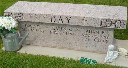 DAY, ADAM B - Montgomery County, Ohio | ADAM B DAY - Ohio Gravestone Photos