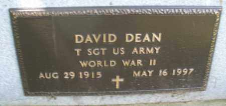 DEAN, DAVID - Montgomery County, Ohio | DAVID DEAN - Ohio Gravestone Photos