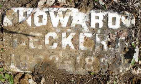 DECKERT, HOWARD - Montgomery County, Ohio | HOWARD DECKERT - Ohio Gravestone Photos