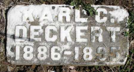 DECKERT, KARL C. - Montgomery County, Ohio | KARL C. DECKERT - Ohio Gravestone Photos