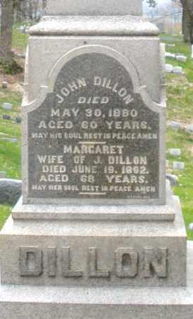 DILLON, JOHN - Montgomery County, Ohio | JOHN DILLON - Ohio Gravestone Photos