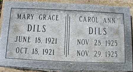 DILS, MARY GRACE - Montgomery County, Ohio | MARY GRACE DILS - Ohio Gravestone Photos