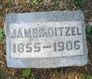 DITZEL, JAMES - Montgomery County, Ohio | JAMES DITZEL - Ohio Gravestone Photos