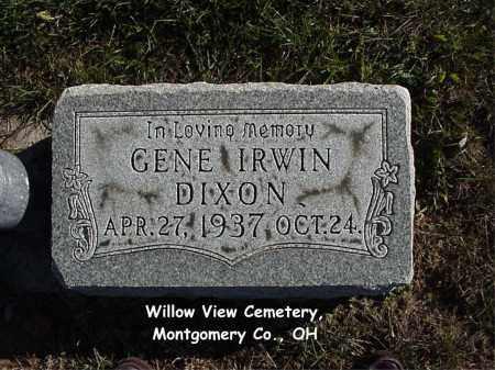 DIXON, GENE - Montgomery County, Ohio | GENE DIXON - Ohio Gravestone Photos