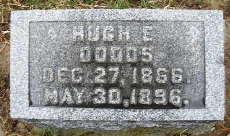 DODDS, HUGH E. - Montgomery County, Ohio   HUGH E. DODDS - Ohio Gravestone Photos