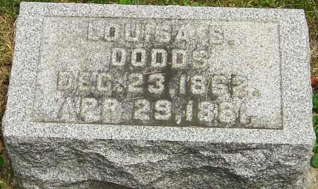 DODDS, LOUISA S - Montgomery County, Ohio   LOUISA S DODDS - Ohio Gravestone Photos