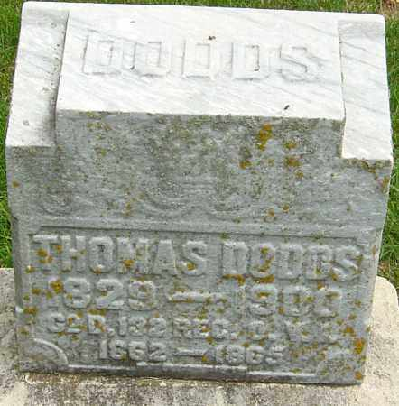 DODDS, THOMAS - Montgomery County, Ohio | THOMAS DODDS - Ohio Gravestone Photos
