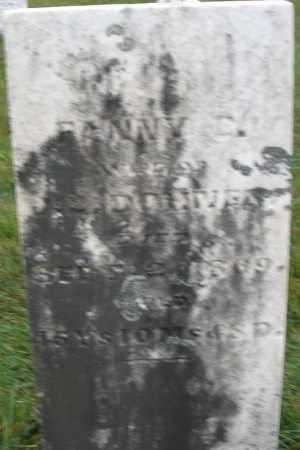 DOHNER, FANNY - Montgomery County, Ohio | FANNY DOHNER - Ohio Gravestone Photos