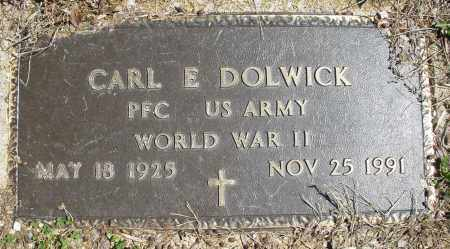 DOLWICK, CARL E. - Montgomery County, Ohio | CARL E. DOLWICK - Ohio Gravestone Photos