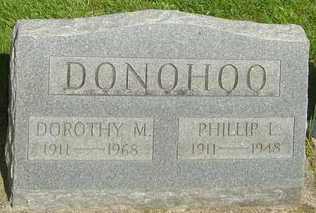 DONOHOO, DOROTHY M - Montgomery County, Ohio | DOROTHY M DONOHOO - Ohio Gravestone Photos