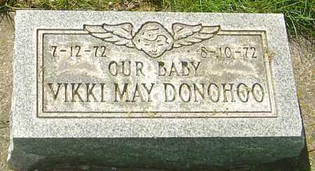 DONOHOO, VIKKI MAY - Montgomery County, Ohio | VIKKI MAY DONOHOO - Ohio Gravestone Photos