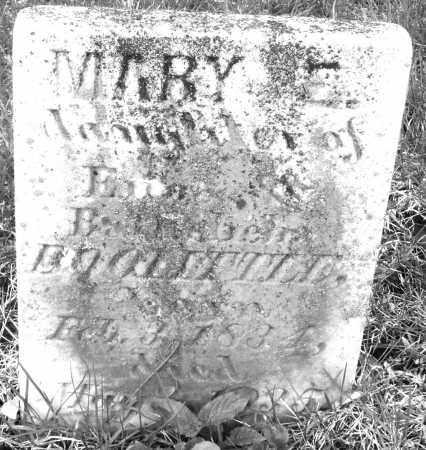 DOOLITTLE, MARY E. - Montgomery County, Ohio   MARY E. DOOLITTLE - Ohio Gravestone Photos