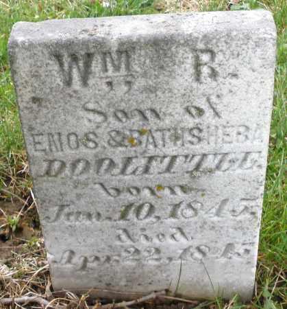 DOOLITTLE, WILLIAM R. - Montgomery County, Ohio   WILLIAM R. DOOLITTLE - Ohio Gravestone Photos
