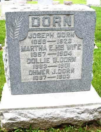 DORN, JOSEPH - Montgomery County, Ohio | JOSEPH DORN - Ohio Gravestone Photos